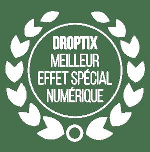Droptix swissQprint : élu meilleur effet spécial numérique