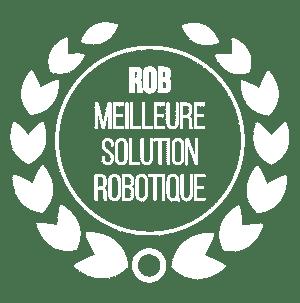 Rob, robot de chargement swissQprint : élue meilleur solution robotique