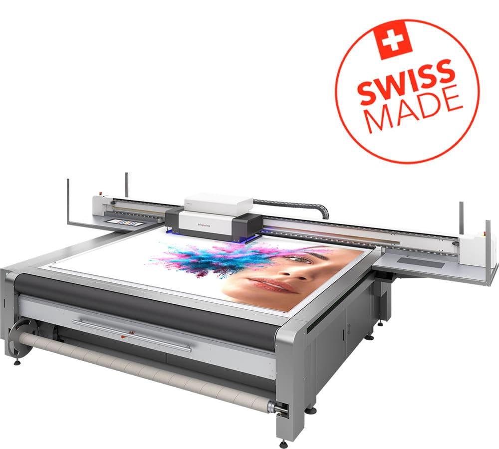 Imprimante à jet d'encre grand format swissQprint : Impala 3 / 3S