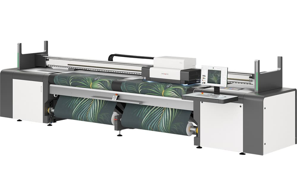 Imprimante roll-to-roll grand format swissQprint : Karibu en option double bobine